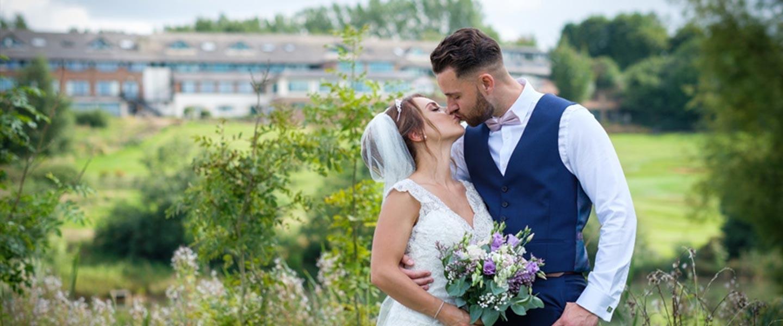 Married Couple Outside